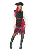 Caribbean Pirate Costume - Women's