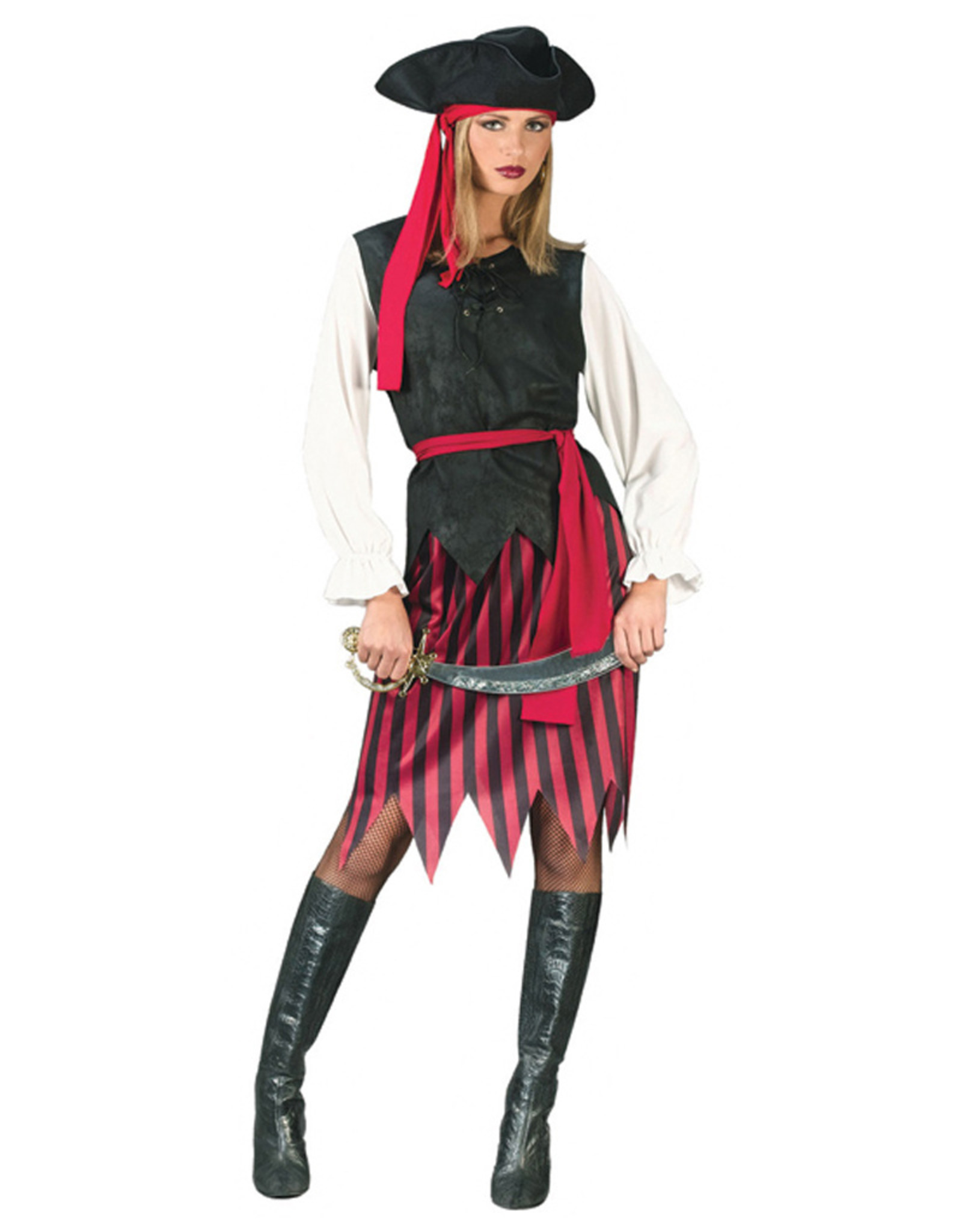 Caribbean Pirate Costume - Women's