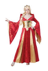 Medieval Queen Costume - Women's