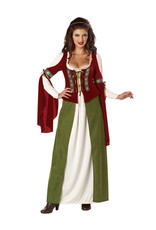 Maid Marian Costume - Women's