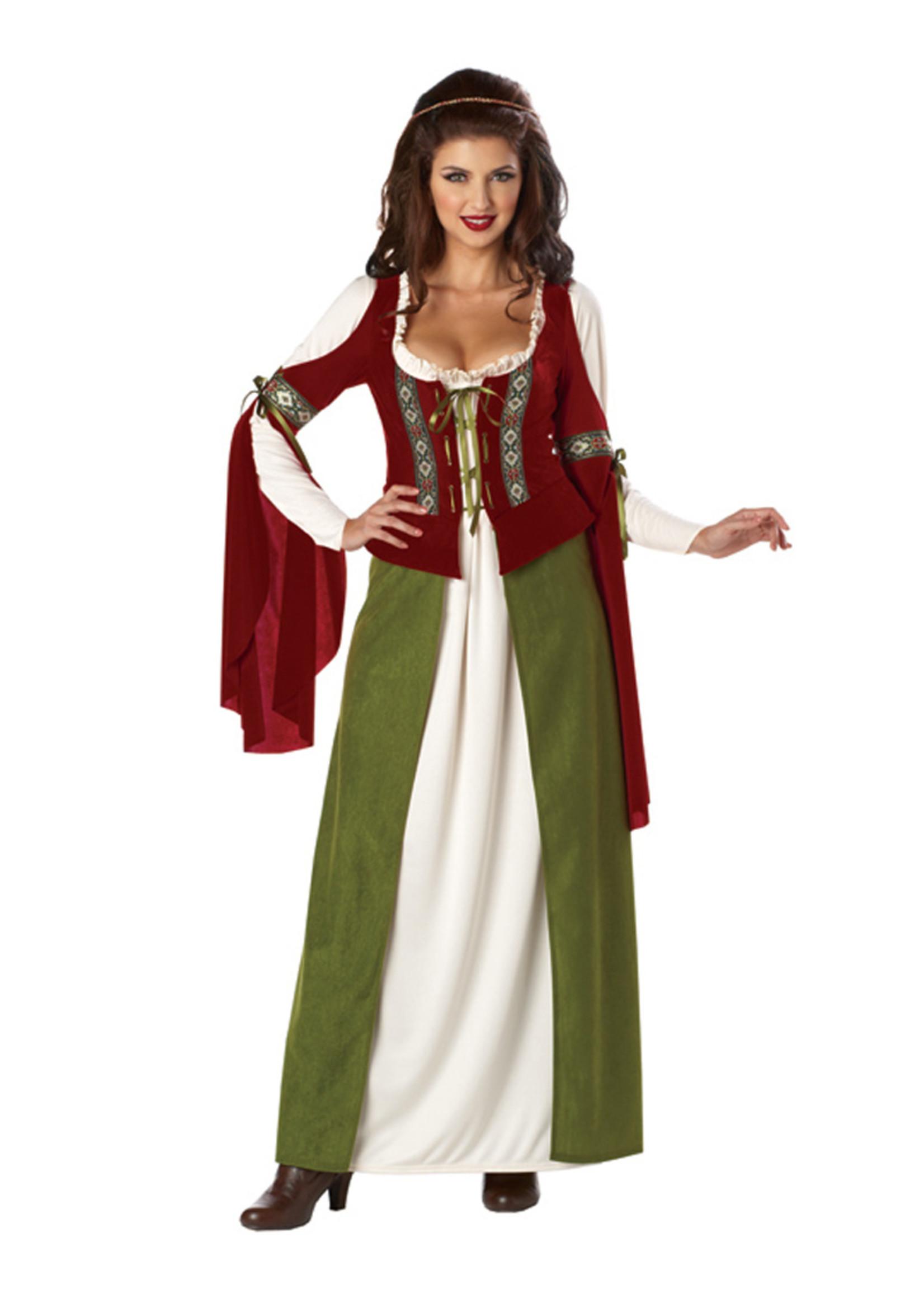 Maid Marian Costume - Women's