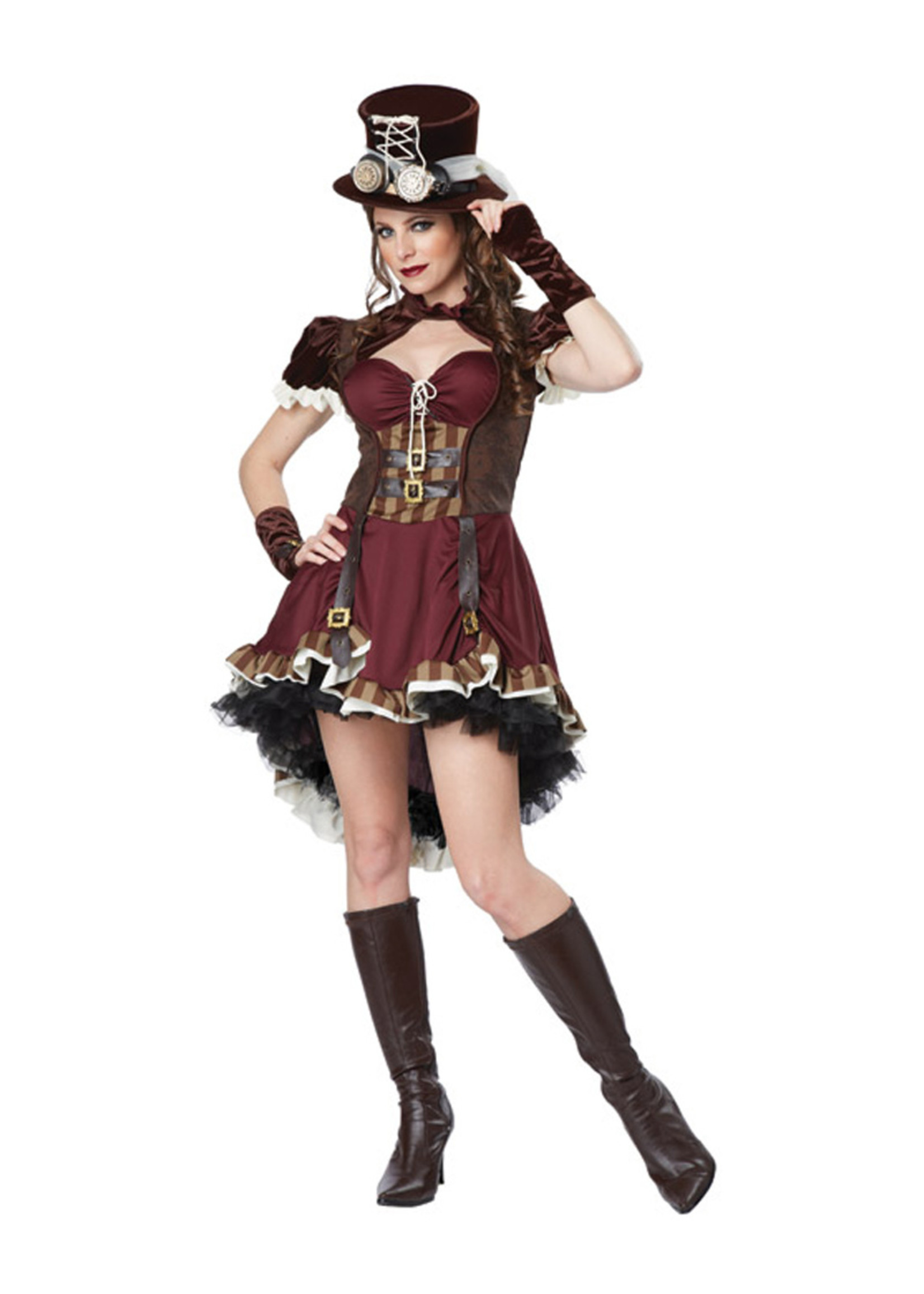 Steampunk Lady Costume - Women's