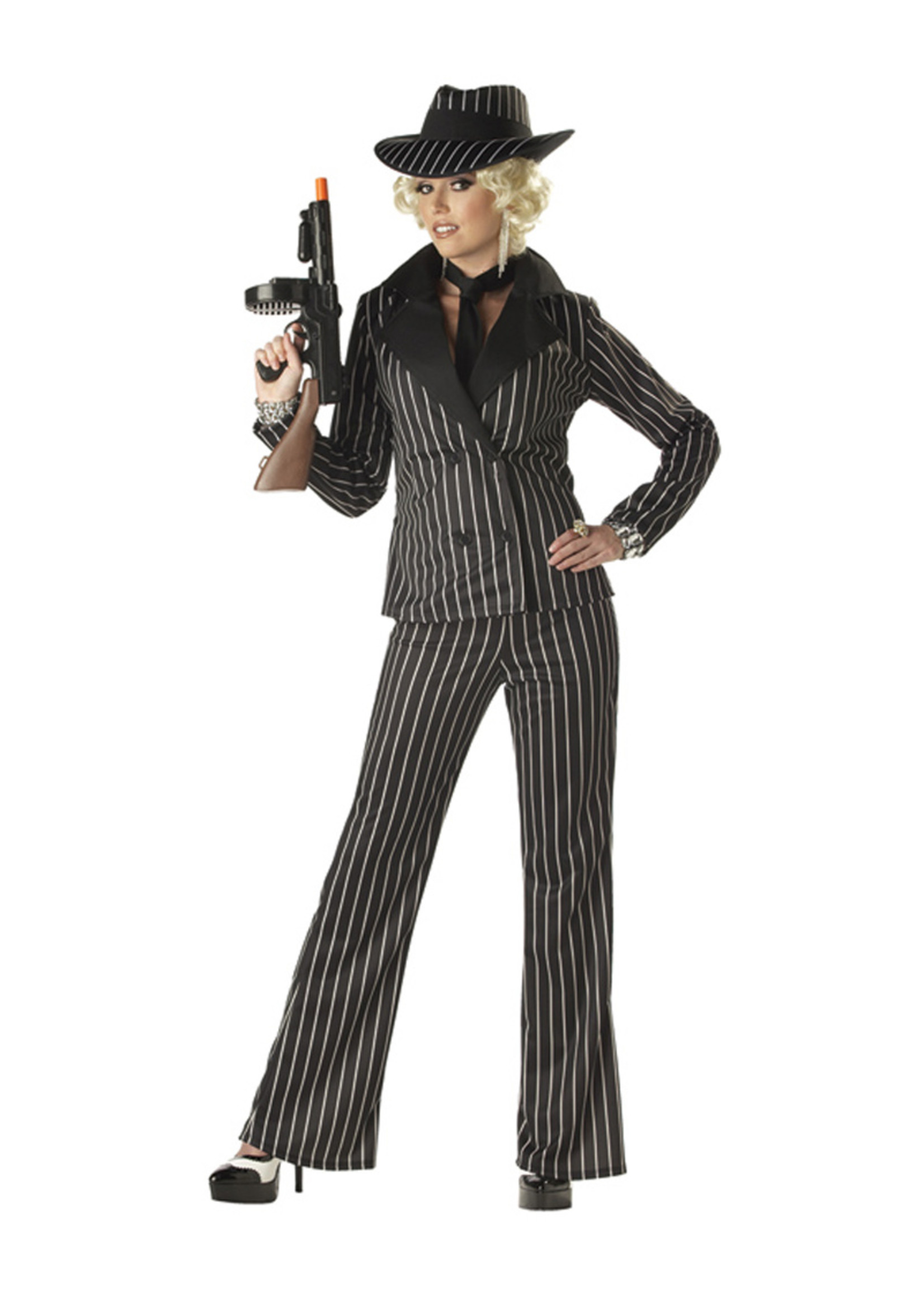 Gangster Lady Costume - Women's