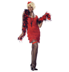 Flapper - Red Costume - Women's