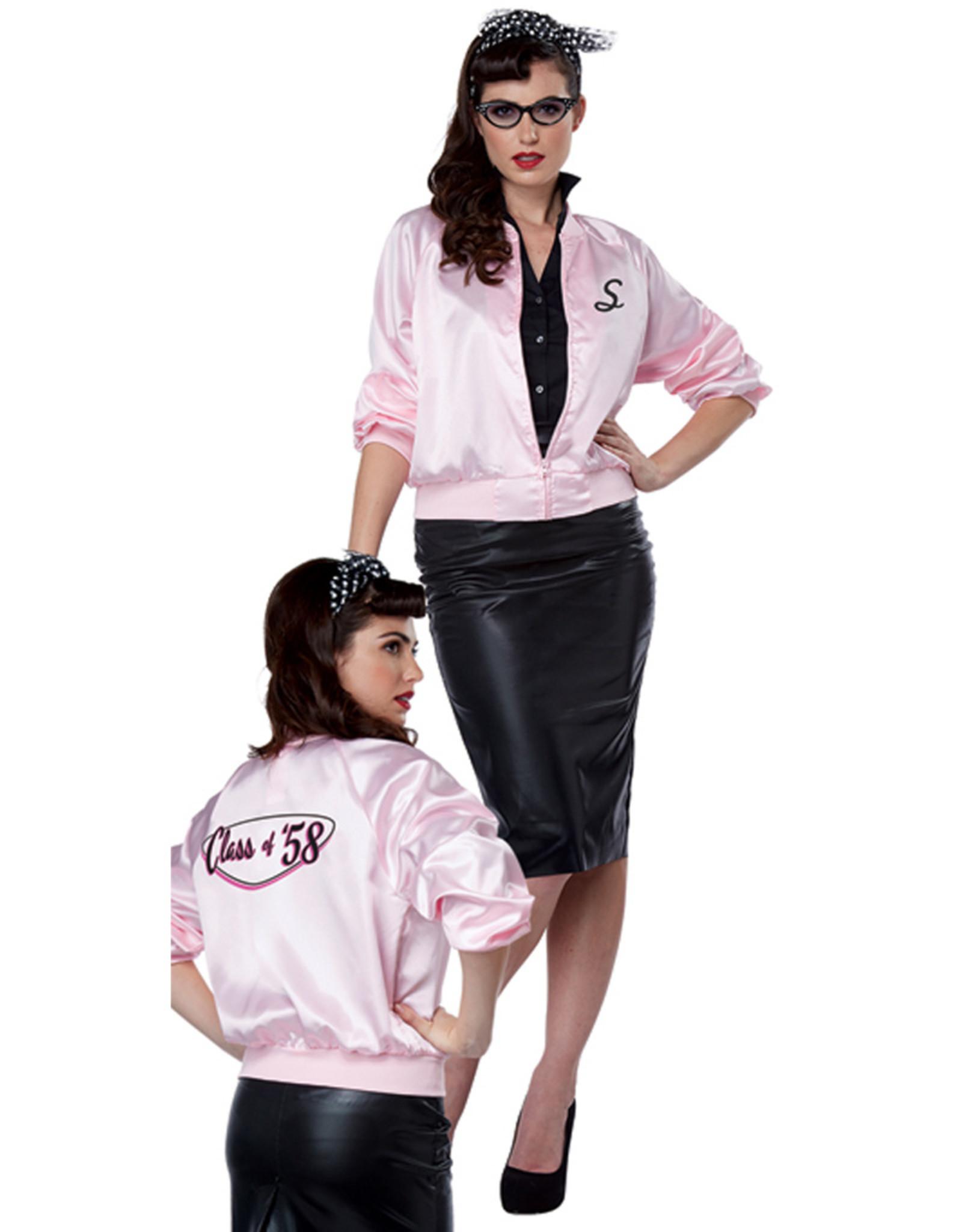 50's Satin Varsity Jacket - Women's