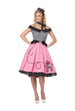 Nifty 50's Costume - Women's