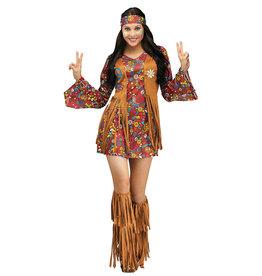 FUN WORLD Peace & Love Hippie Costume - Women's