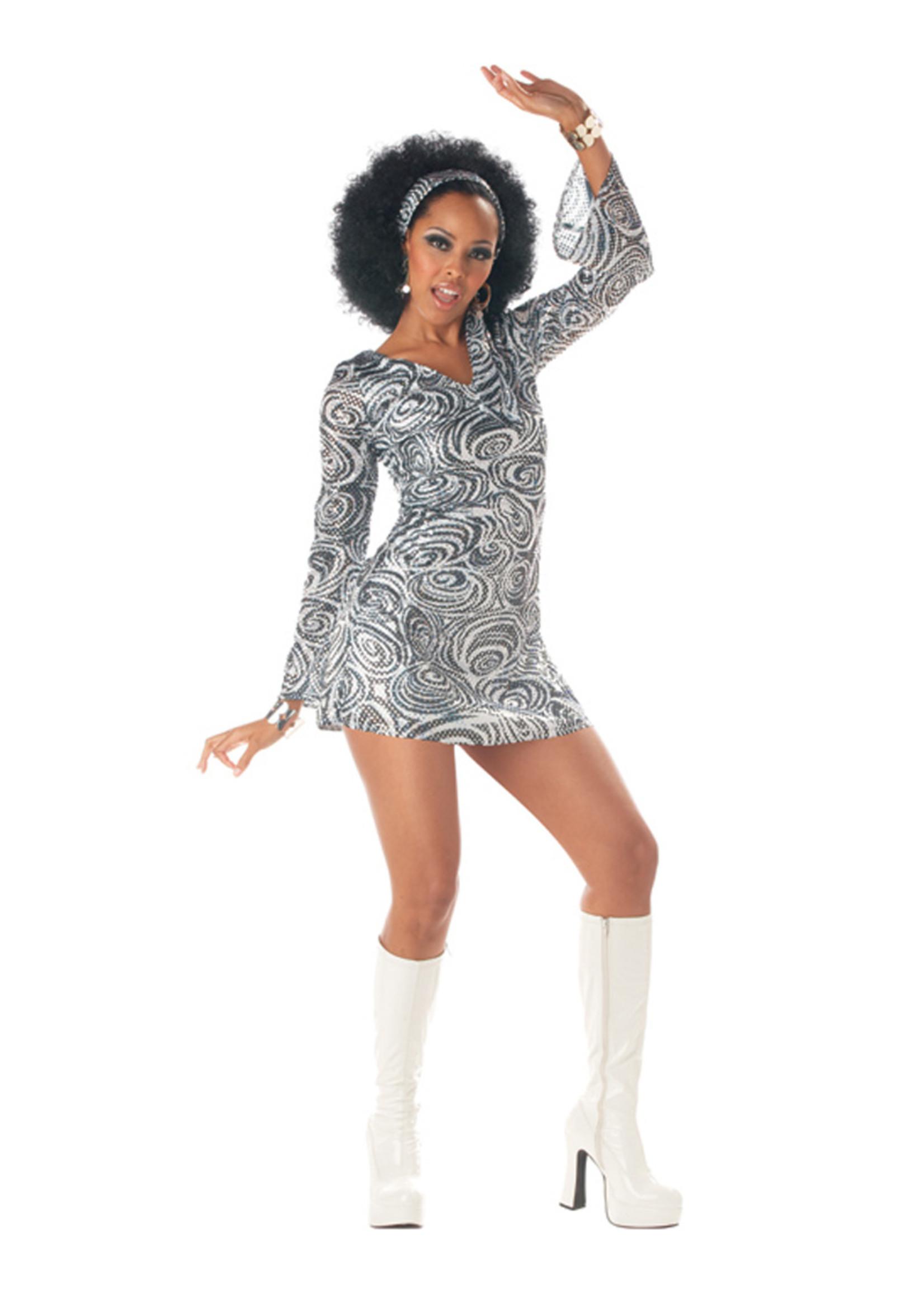 Disco Diva Costume - Women's