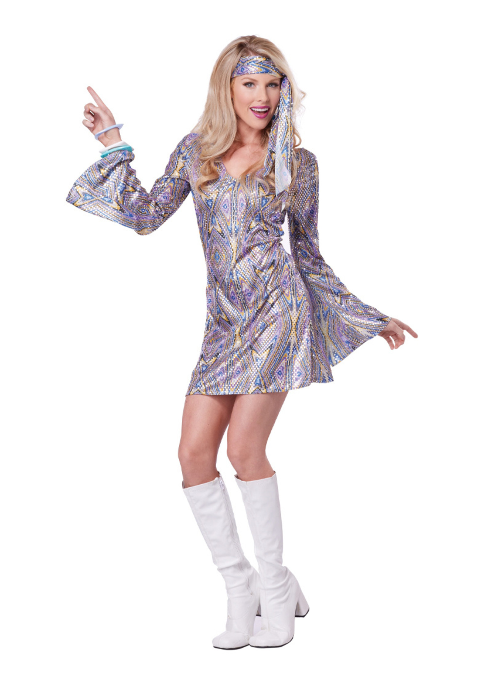 Disco Sensation Costume - Women's