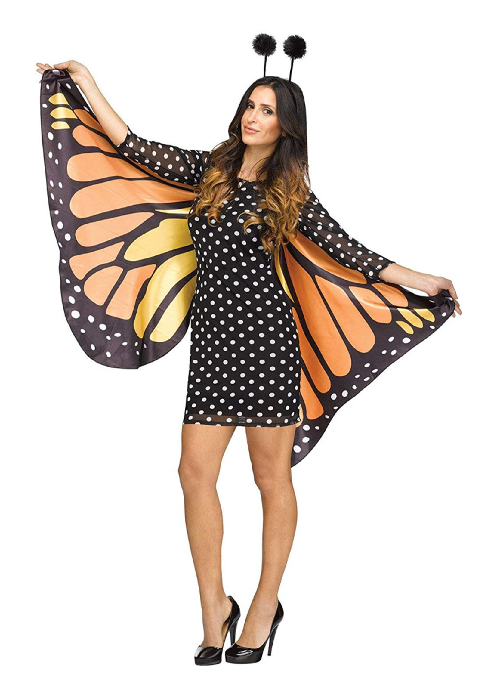 FUN WORLD Fluttery Butterfly Costume - Women's