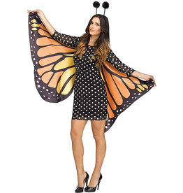 Fluttery Butterfly Costume - Women's
