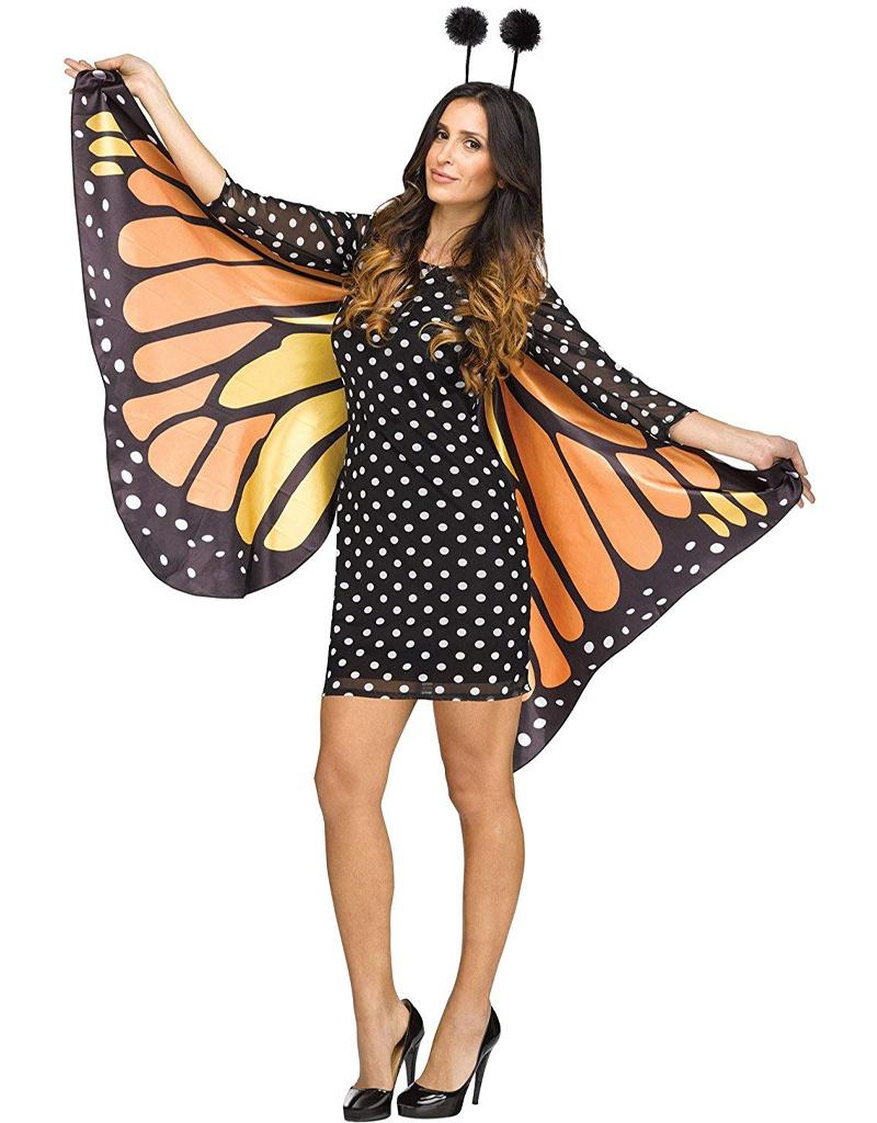 Fluttery Butterfly Costume - Women's