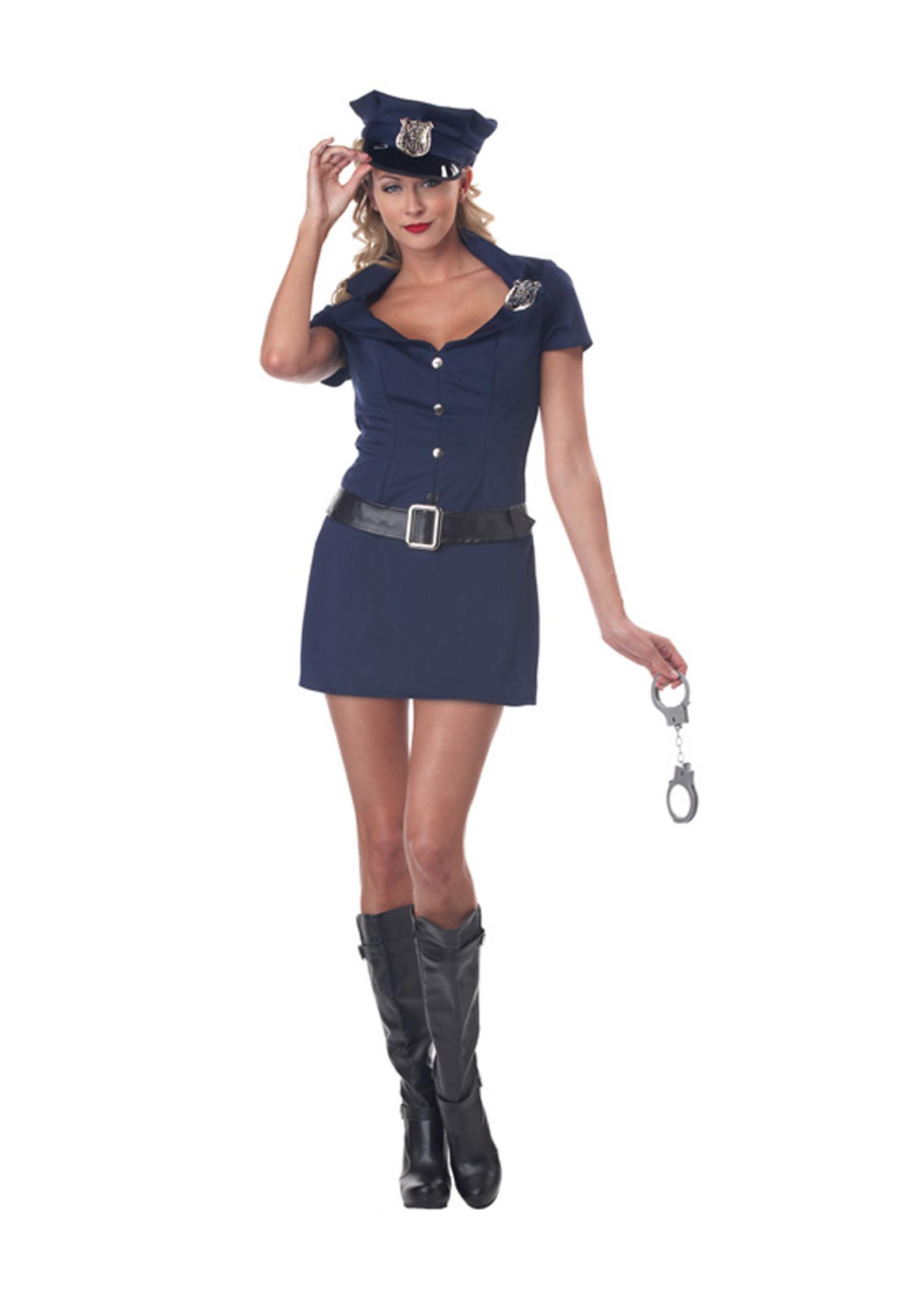 Police Woman Costume - Women's