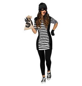 FUN WORLD Burglar Babe Costume - Women's
