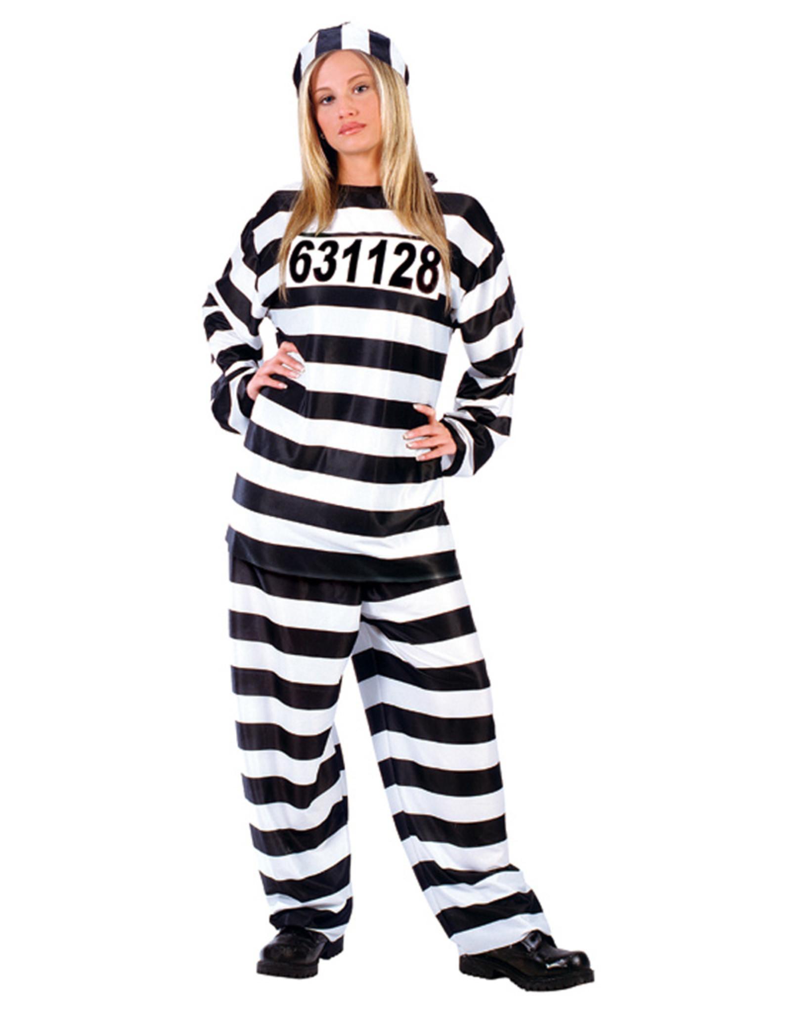 FUN WORLD Jailhouse Honey Costume - Women's