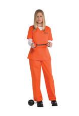 Orange Inmate Costume - Women's