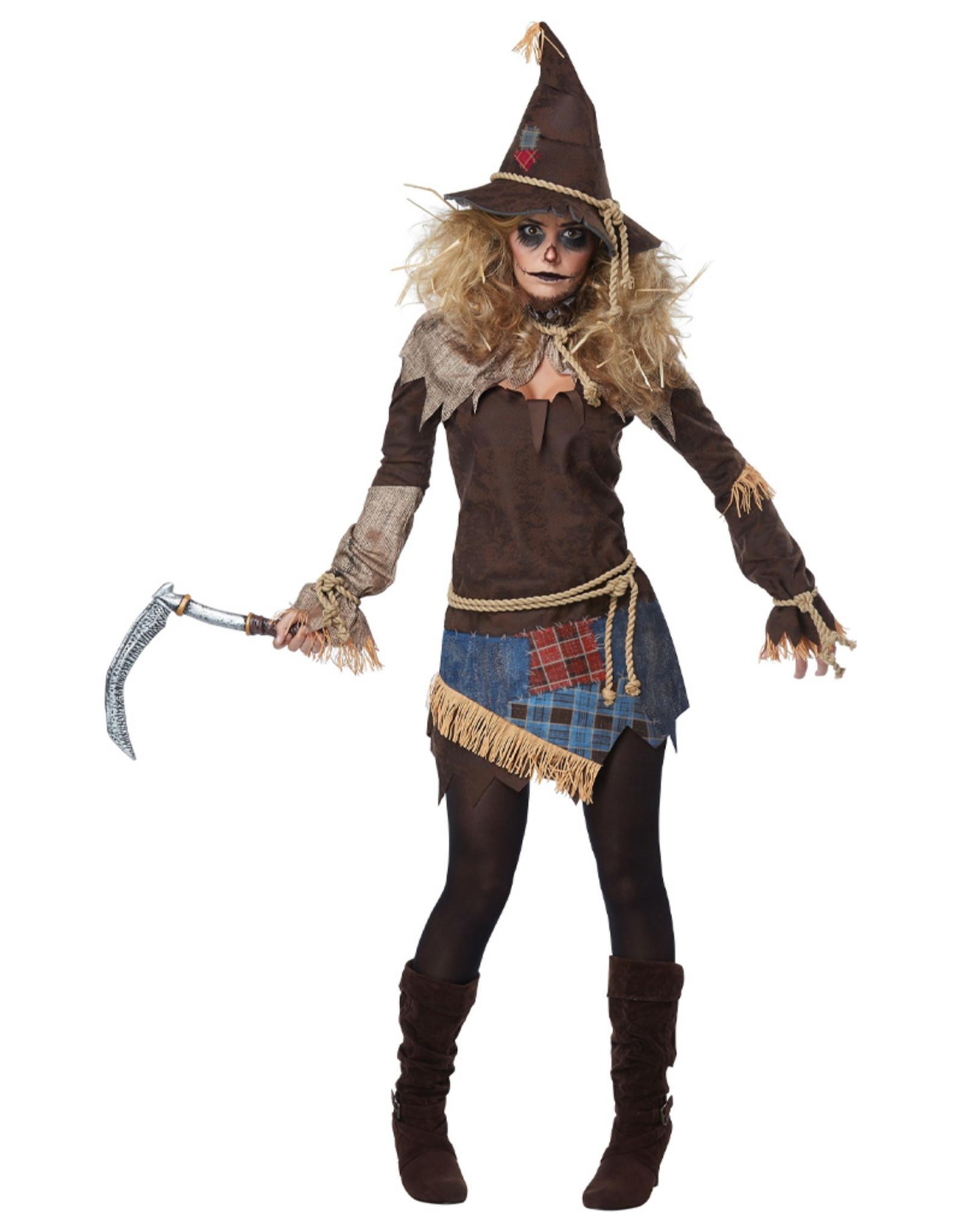 Creepy Scarecrow Costume - Women's