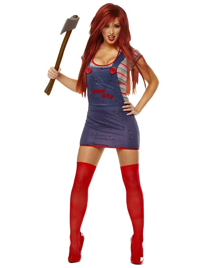 Sexy Chucky Costume - Women's