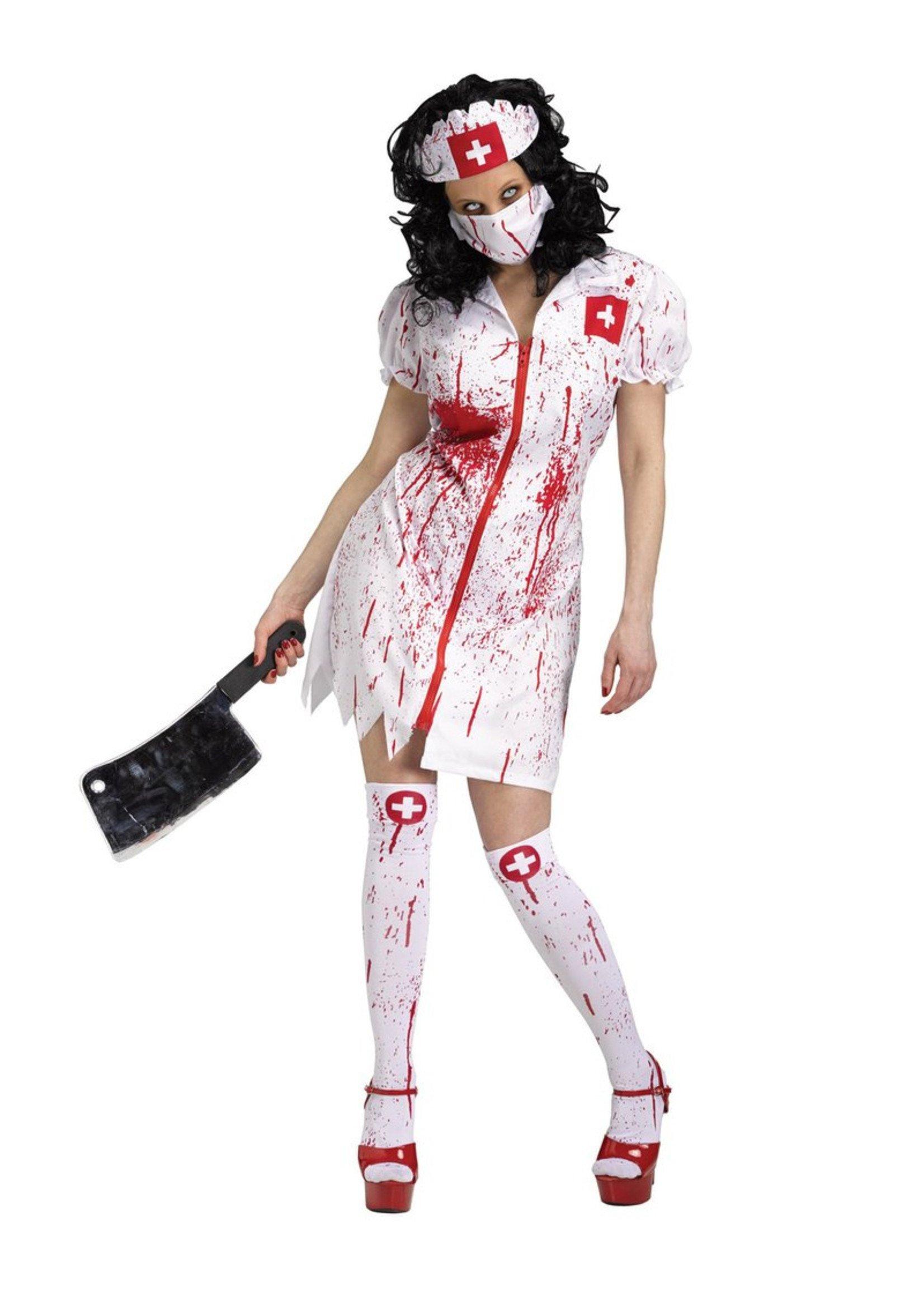 Cursed Nurse Costume - Women's