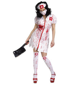 Cursed Nurse Costume - Women's