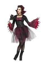 Goth Rose Vampira Costume - Women's