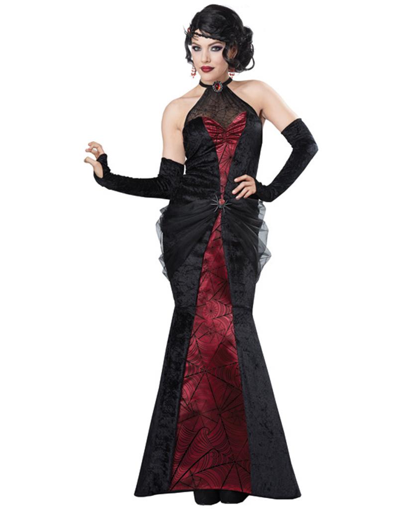 Black Widow Woman Costume - Women's