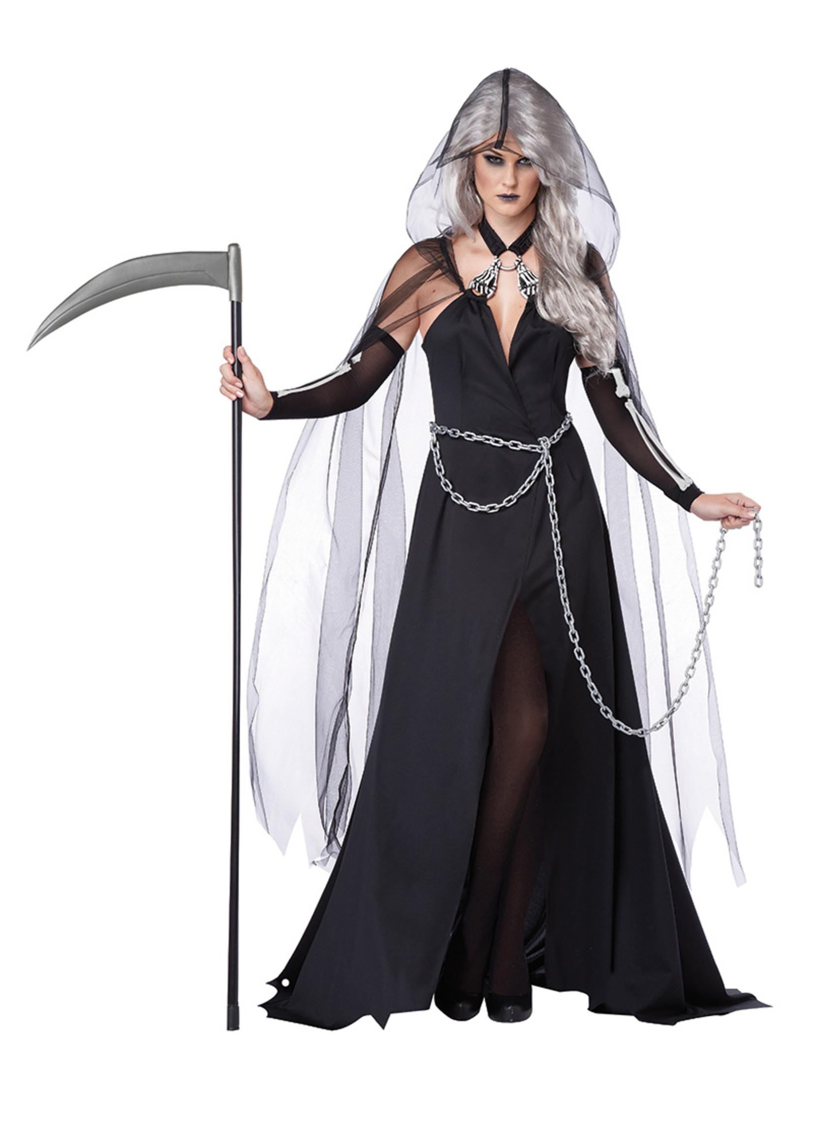 Lady Reaper Costume - Women's