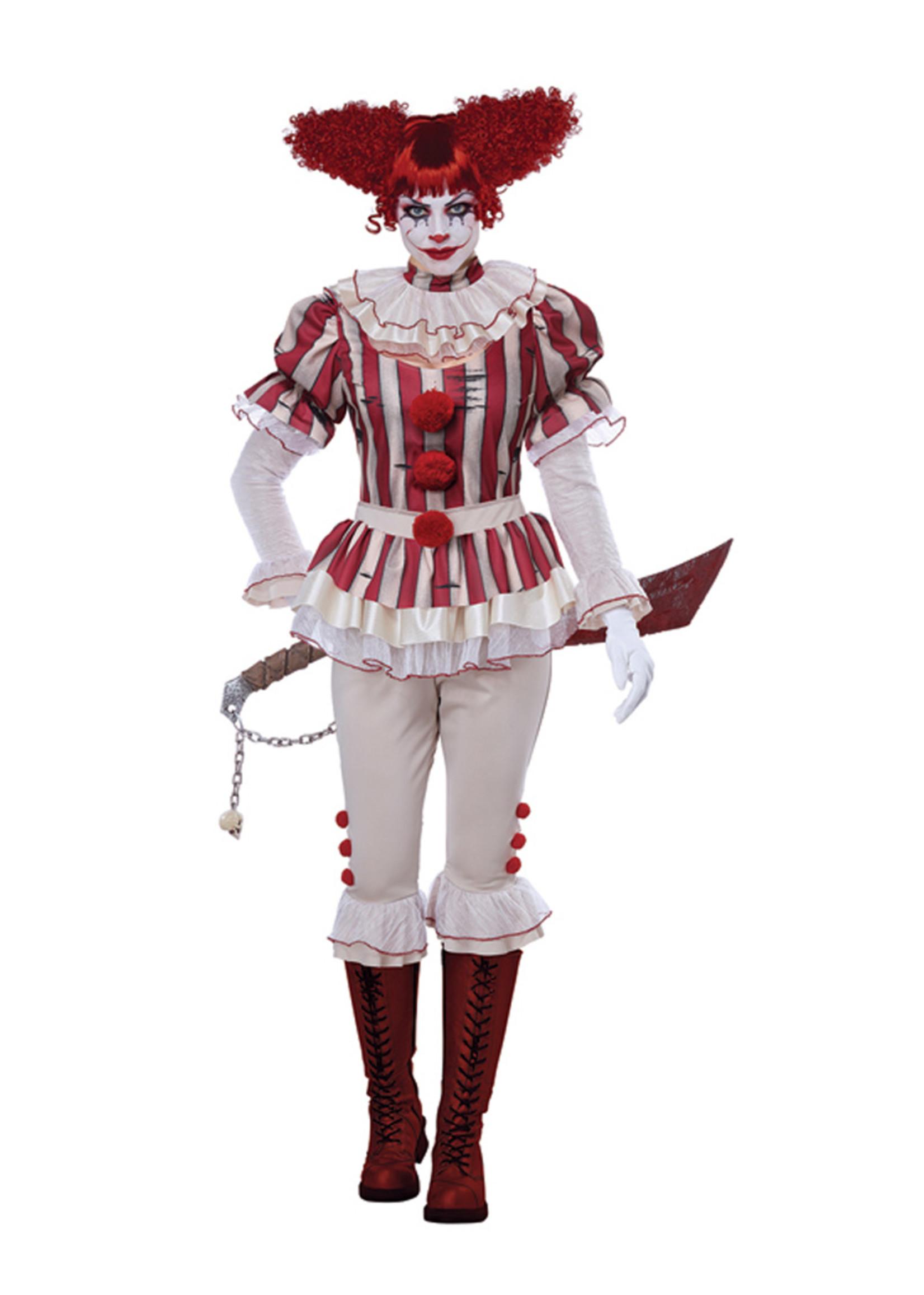 Sadistic Clown Costume - Women's