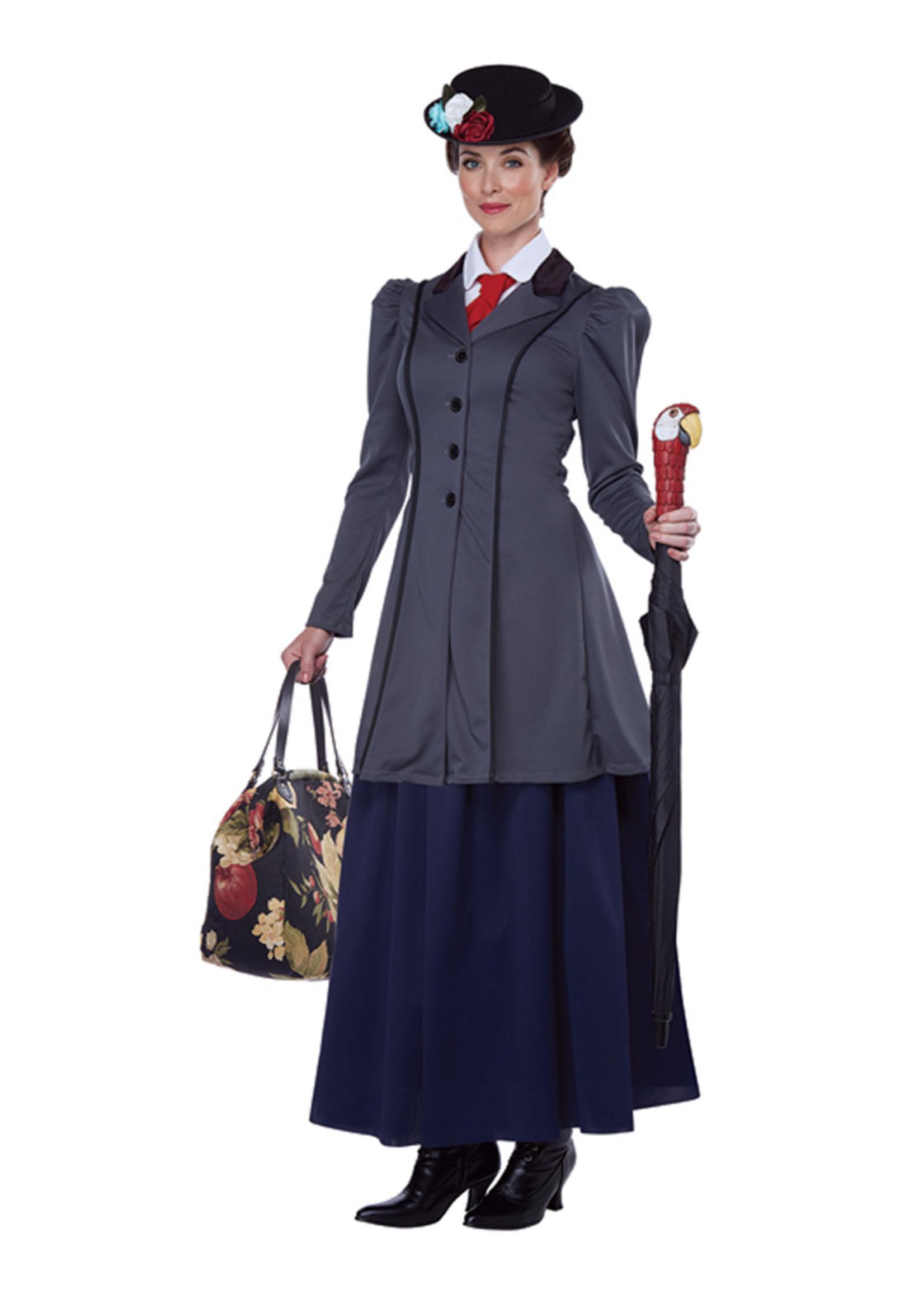 English Nanny Costume - Women's