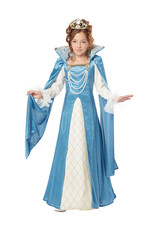 Renaissance Queen Costume - Girls