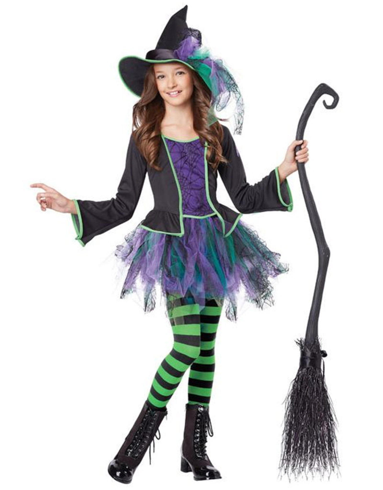 Festive Witch Costume - Girls