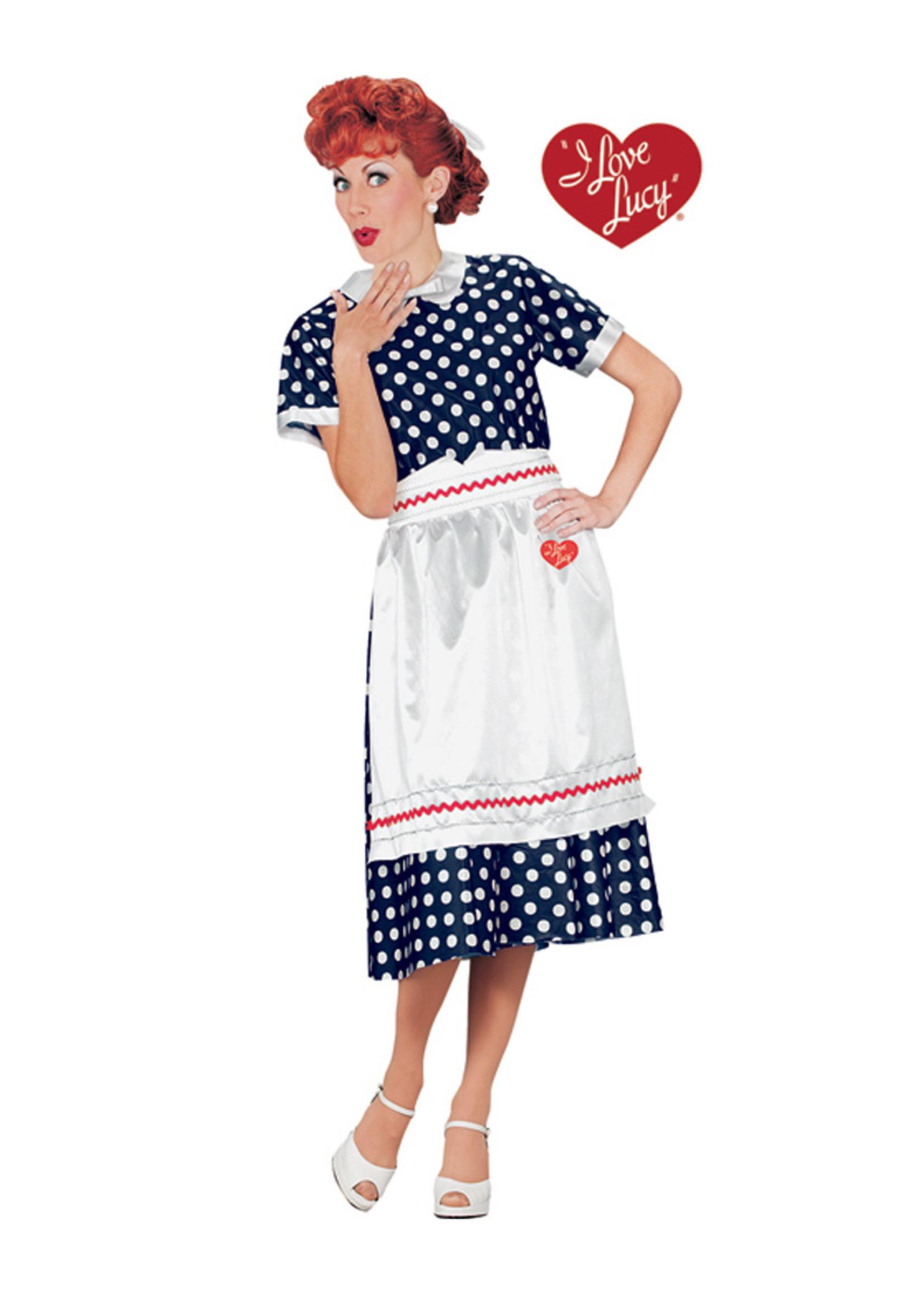 I Love Lucy Costume - Women's