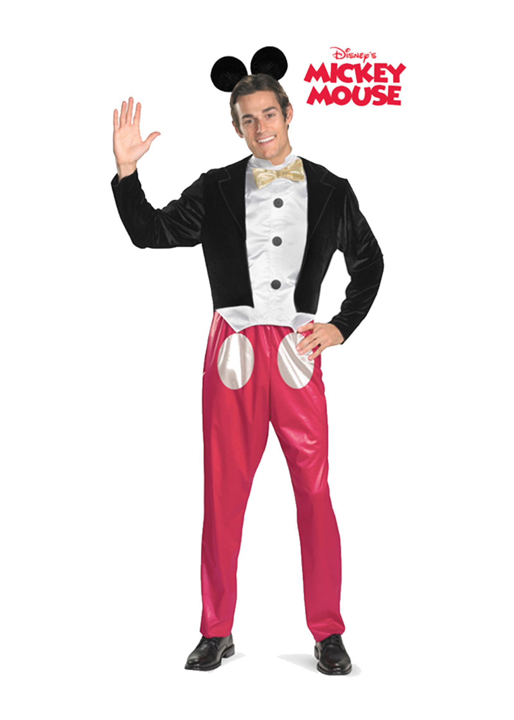 Mickey Mouse Costume - Men's