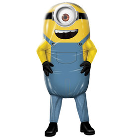 Inflatable Minion Stuart Costume - Men's