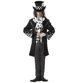Dark Mad Hatter Costume - Men's
