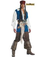 Captain Jack Sparrow Costume - Men's
