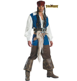 Captain Jack Sparrow Costume - Men's
