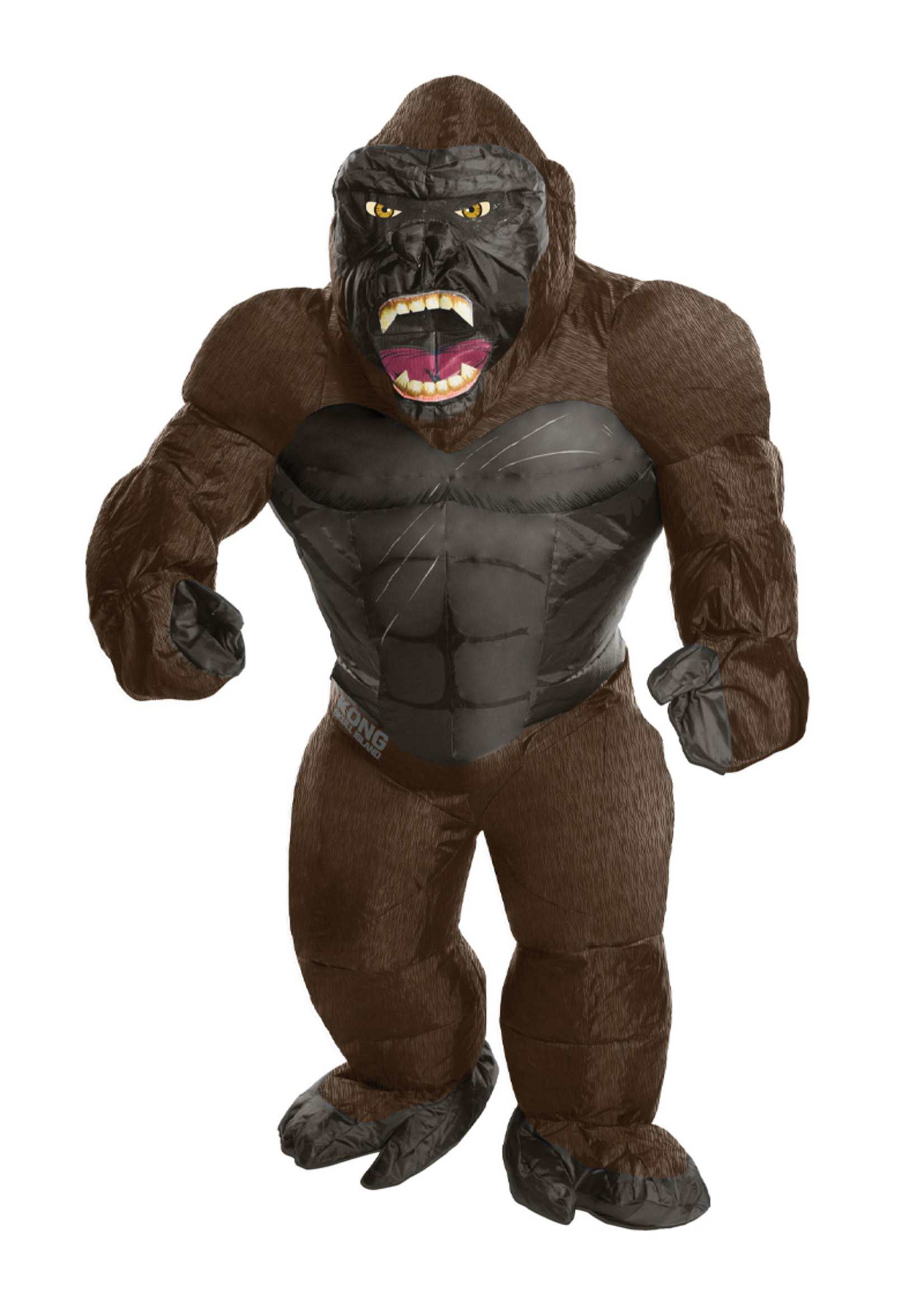 Inflatable King Kong Costume - Men's
