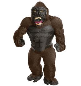Inflatable King Kong Costume - Men's