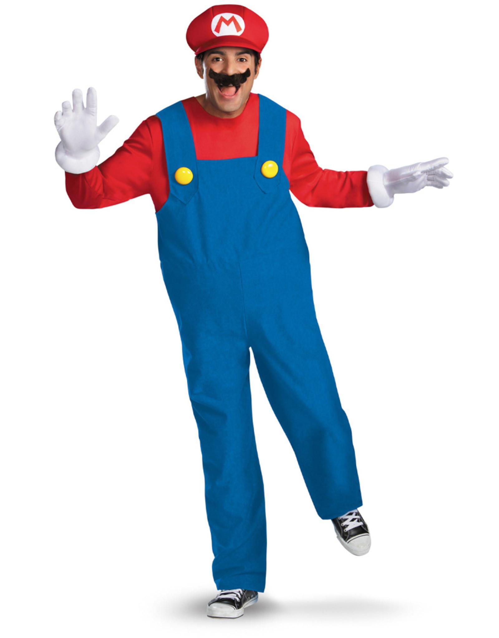 Mario Costume - Men's
