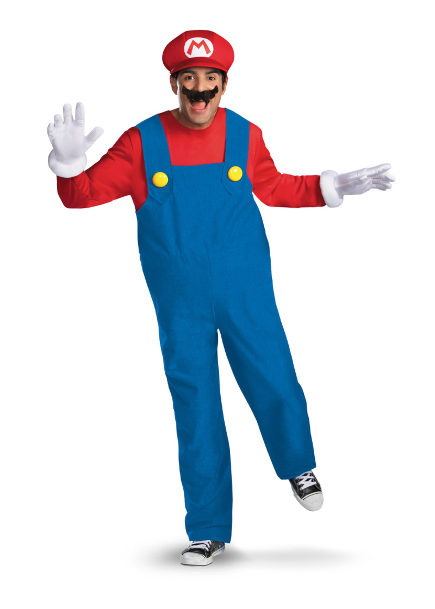 DISGUISE Mario Costume - Men's