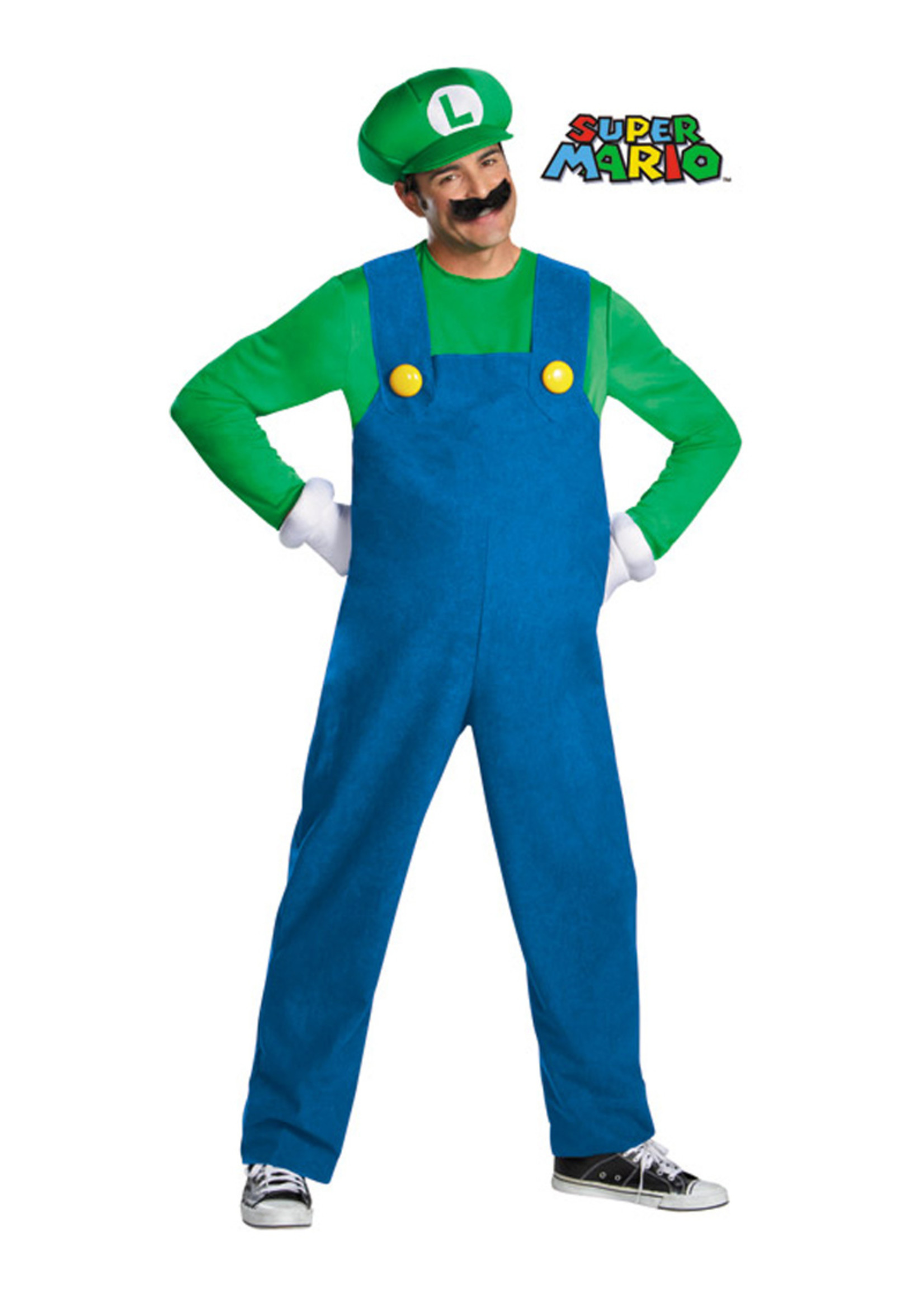 Luigi Costume - Men's