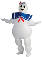Stay Puft Inflatable Man Costume - Men's