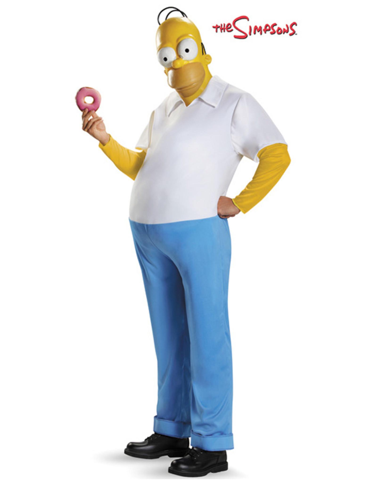 Homer Simpson Costume - Men's