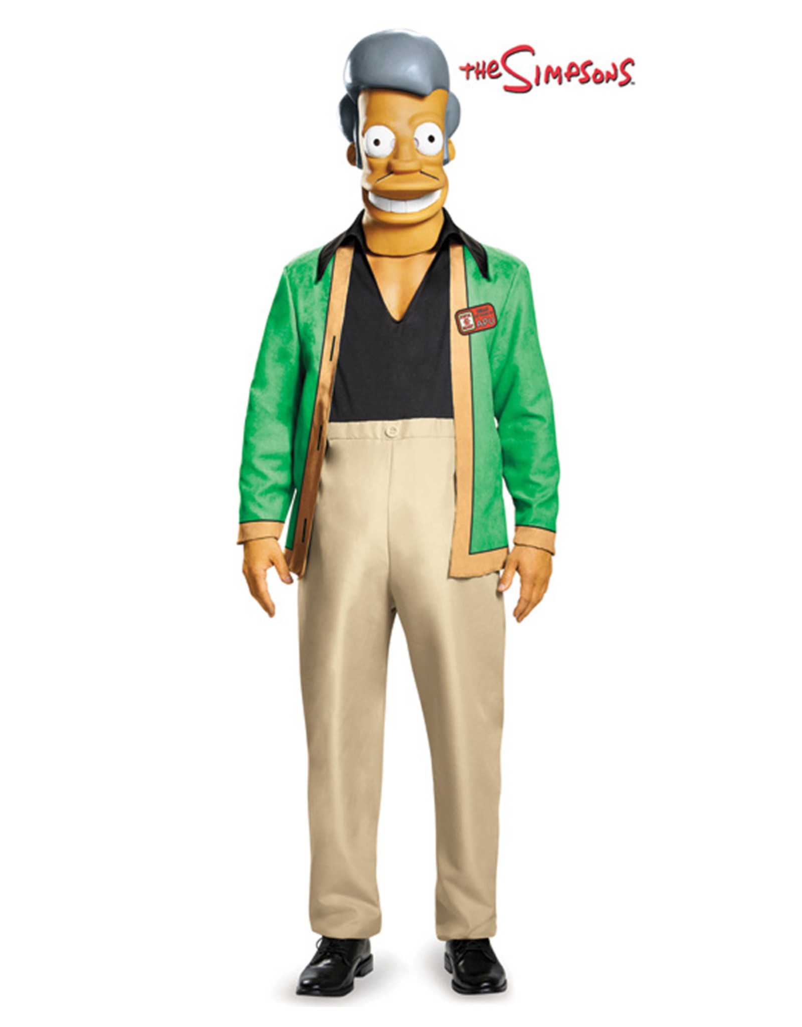 Apu - The Simpsons Costume - Men's