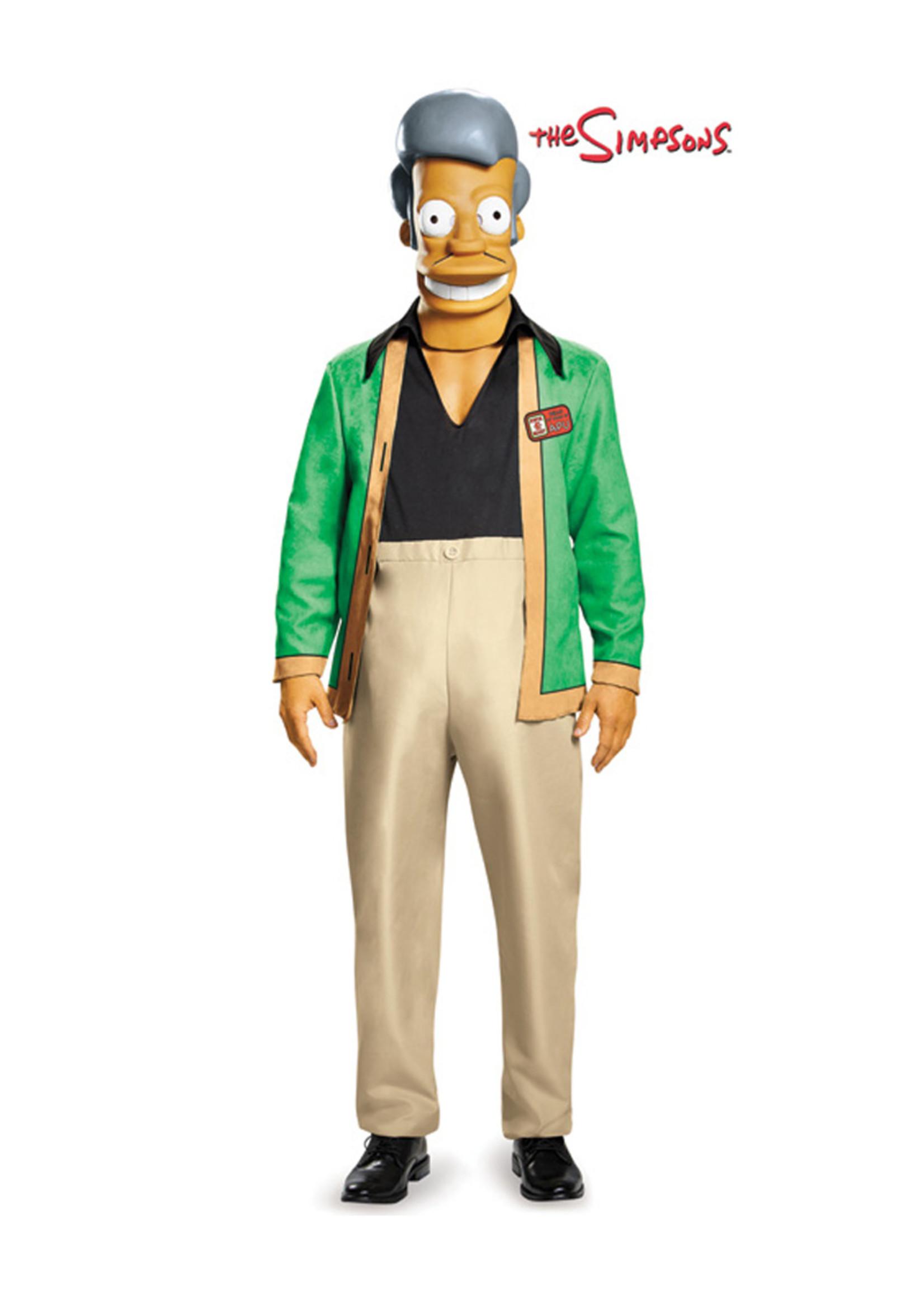 Apu - The Simpsons Costume - Men's