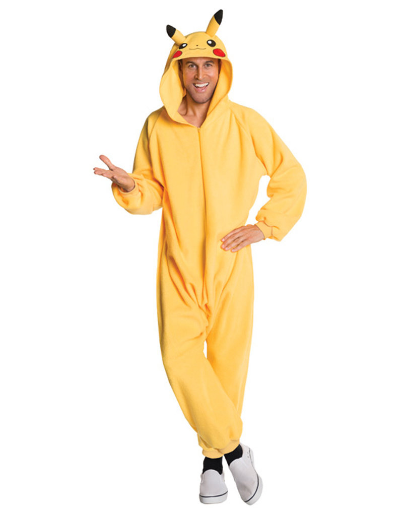 Pikachu Jumpsuit Costume - Men's