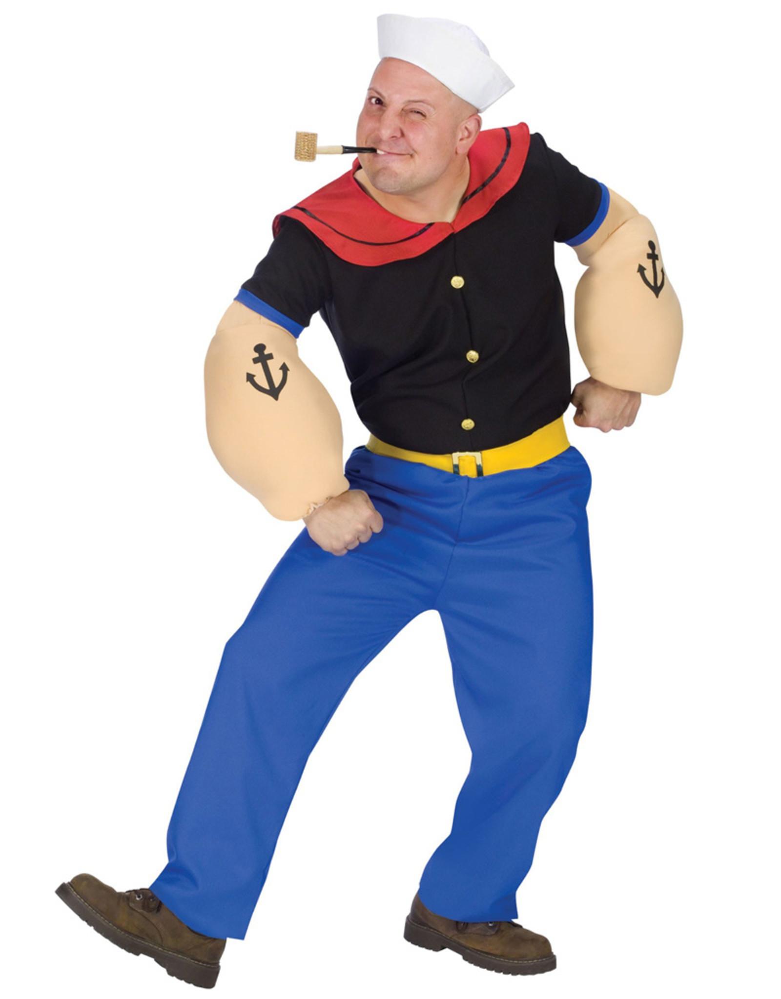 Popeye Costume - Men's