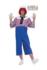 Raggedy Andy Costume - Men's