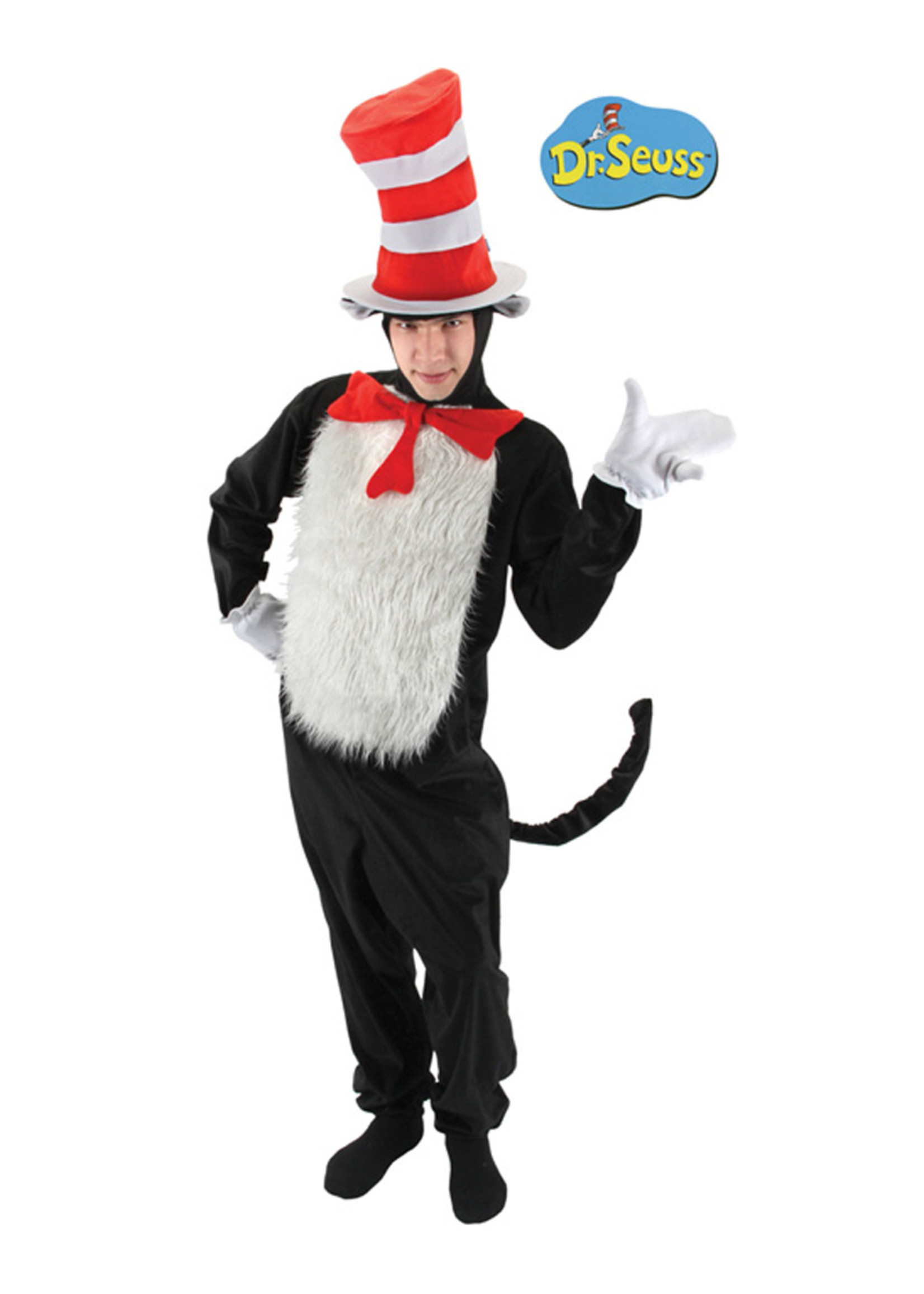 The Cat in the Hat Costume - Men's
